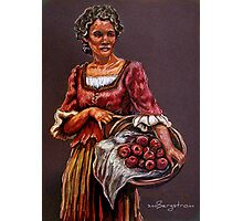 """""""Tonight's Apple Pie"""" Portrait Of An African Woman Photographic Print"""