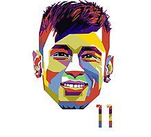 Neymar Jr. ART Photographic Print