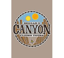 Beggars Canyon Tours Photographic Print