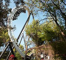 Full Throttle Roller Coaster by MontagnaMagica