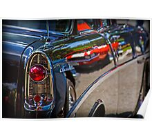 Classic Chevy Tail Lights Poster