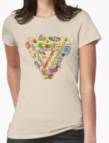 The Impossible Board Game Womens Fitted T-Shirt