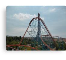Goliath Roller Coaster Canvas Print