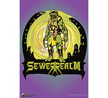 SewerRealm -Yellow Photographic Print
