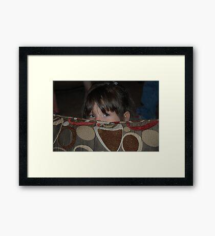 A Sneak Peek...... Framed Print