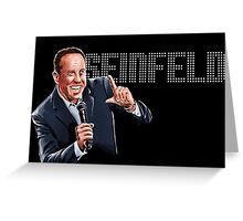 Jerry Seinfeld - Comedy Legend Greeting Card