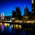 Frankfurt Waterfront by AndrewBerry