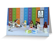 May the fourth be with you - Star Wars Day Greeting Card