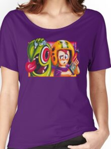 Oldies Commander Keen - Retro DOS game fan shirt Women's Relaxed Fit T-Shirt