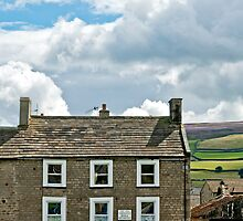 Rooftops and Moorland by Sue Knowles