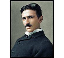 Nikola Tesla, ca. 1890 Photographic Print