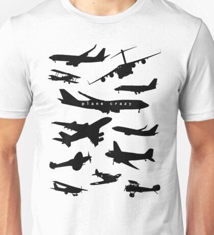 Plane Crazy Unisex T-Shirt