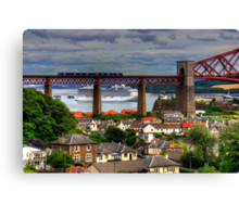 Cruise Ship in the Forth Canvas Print