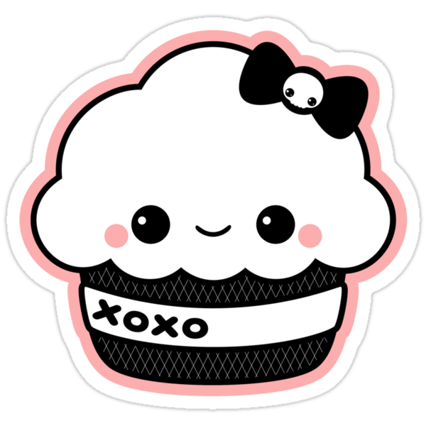 """Cute XO Cake"" Stickers by sugarhai 