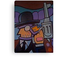 Corporate crime! Canvas Print