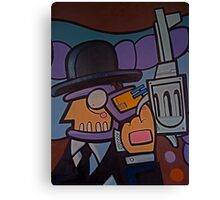 Corporate crime! Canvas Print