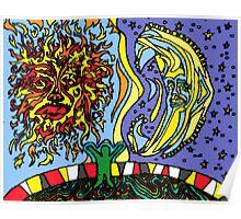 Sun Moon Child Poster
