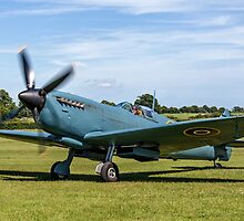 Spitfire PR.XI PL965/R G-MKXI at Old Warden by Colin Smedley