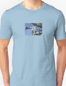 Bark, Apricot Blossom and Blue Sky T-Shirt