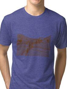 Tuscany Landscape Tri-blend T-Shirt