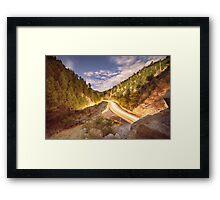Boulder Canyon Dreamin Framed Print