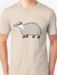 Cute European Badger  Unisex T-Shirt