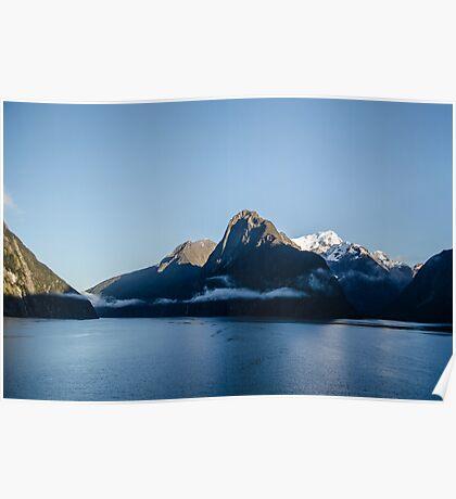 Milford Sound, NZ Poster