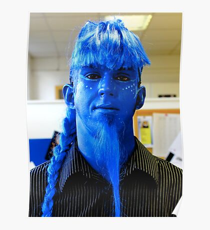 I'm BLUE! Poster
