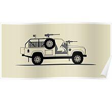Land Rover Defender 110 XD E-WMIK Poster