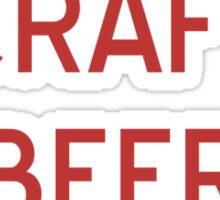 Craft Beer to Wine T-Shirt- CoolGirlTeez Sticker
