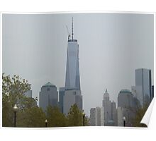 New World Trade Center, View from Liberty State Park, New Jersey Poster