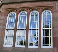Window Reflections by lezvee