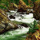 Takhanne River above Million Dollar Falls by Yukondick