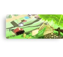 Pokemon - Viridian City Canvas Print