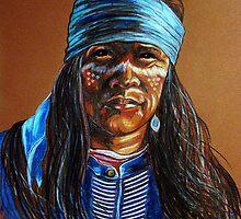 """Blue Hawk"" by Susan Bergstrom"