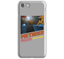 Metroid Remastered (Cover Art) iPhone Case/Skin