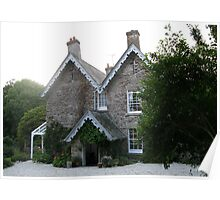 The Old Rectory, Boscastle, Cornwall Poster