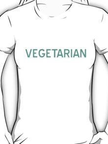 Vegetarian T-Shirt - CoolGirlTeez T-Shirt