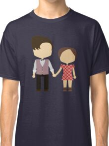 Eleventh Doctor and Clara Oswald Classic T-Shirt