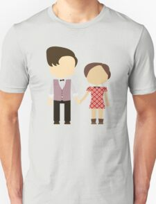 Eleventh Doctor and Clara Oswald T-Shirt