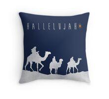 Hallelujah - Wise Men Throw Pillow