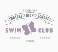 Free! Iwatobi Swim Club Shirt (Rei, Member) white by renotology