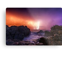 An En-lightning Sunrise Metal Print