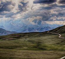Road Through Denali National Park by Dennis Granzow