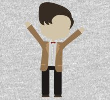 Happy Eleventh Doctor Kids Clothes