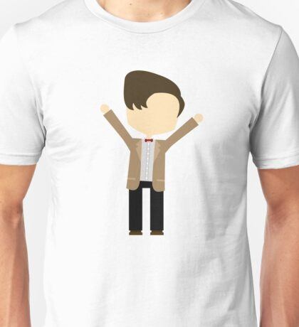 Happy Eleventh Doctor Unisex T-Shirt