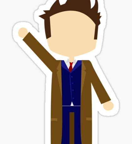 Tenth Doctor Sticker
