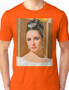 Elizabeth Taylor in The V.I.P.s. Unisex T-Shirt