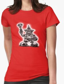 Beware the RoboClown 3000 Womens Fitted T-Shirt