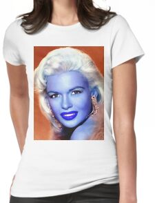 Jayne Mansfield Womens Fitted T-Shirt
